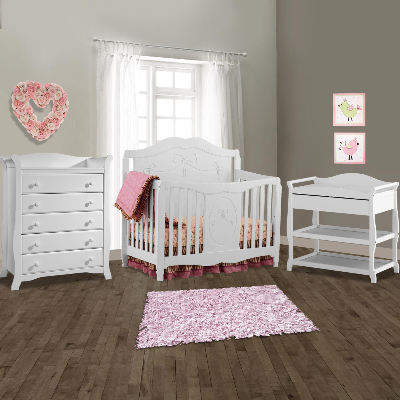 Crib dresser changing table sets bestdressers 2017 Baby crib with changing table