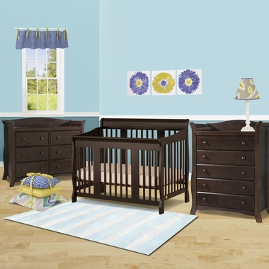storkcraft 3 piece nursery set tuscany convertible crib