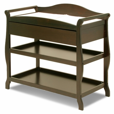 Stork Craft Aspen Changing Table With Drawer White