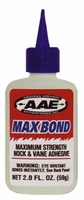 AAE Max Bond Glue 2 oz.