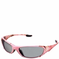 AES Optics Ladies Pink Polarized Sport Sunglasses
