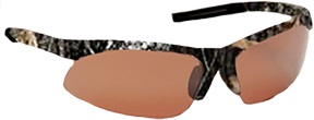 AES Optics Mossy Oak Polarized Sport Sunglasses