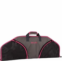 "Allen 36"" Compact Bow Case Hot Pink and Black"