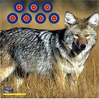 American Whitetail Tough Target Face Coyote 32x32