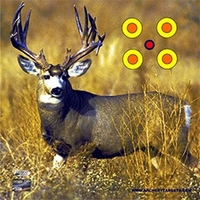 American Whitetail Tough Target Face Mule Deer 32x32