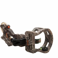 Apex Accu Strike XS 5 Pin Bow Sight with Light Realtree Xtra Camo