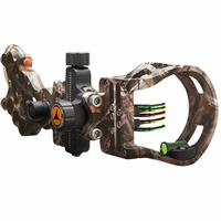 Apex Attitude Micro 5 Pin Bow Sight Mathews Lost Camo with Light