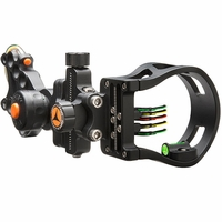 Apex Gear Attitude Micro with Opti Choice Pin Selector Bow Sight Black