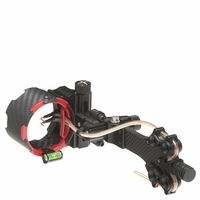 AXT Archer Xtreme Carbon Carnivore C4 Micro Adjust 4 Pin Bow Sight