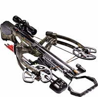 Barnett Buck Commander Revengeance Crossbow Package with 4x32 Illuminated Scope