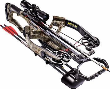 Barnett Vicious Reverse Draw Crossbow Package with 4x32 Illuminated Scope