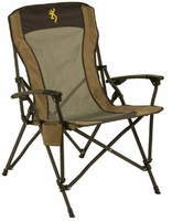 Browning Camping Fireside Chair Gold Buckmark