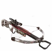CamX X330 Base Crossbow Package Mossy Oak Treestand Camo