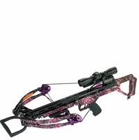 Carbon Express Covert Tyrant Huntress Crossbow Package Muddy Girl Camo