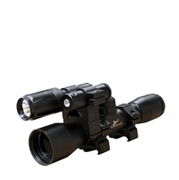 Carbon Express Crossbow Scope 4x32 with Laser and Light