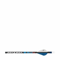 "Carbon Express Maxima Blue RZ Arrows with 2"" Blazer Vanes 6 Pack"