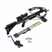 Carbon Express X-Force Blade Pro Crossbow Kit with Crank Cocker