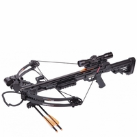 Crosman Centerpoint Sniper 370 Crossbow Package Black