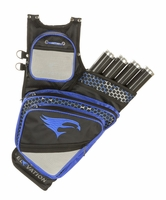 Elevation Adrenalin Hip Quiver Black with Blue