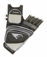 Elevation Adrenalin Hip Quiver Black with Silver