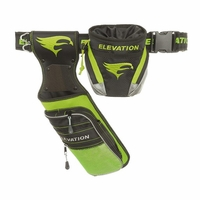 Elevation Nerve Field Quiver Package Black with Flo Green
