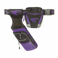 Elevation Nerve Field Quiver Package Black with Purple