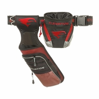 Elevation Nerve Field Quiver Package Black with Red