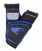 Elevation Transition Hip Quiver Black with Blue