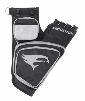 Elevation Transition Hip Quiver Black with Silver