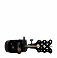 Extreme Archery EXR Sniper 1900 Bow Sight 5 Pin with Sunshade and Light Black