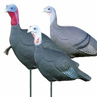 Flambeau Love Triangle Flock Turkey Decoys
