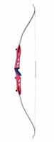 "Fleetwood Knight 66"" Takedown Recurve Bow Red"
