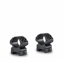 "Hawke Weaver Medium Match 2 Piece Scope Rings 1"" Matte"