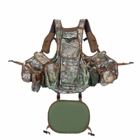 Hunters Specialties Undertaker Turkey Vest Realtree Xtra Green Camo