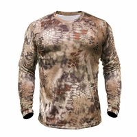 Kryptek Hyperion Long Sleeve Crew Shirt Highlander Camo