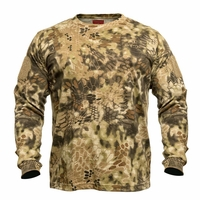 Kryptek Stalker Long Sleeve Shirt Highlander Camo