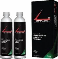 Lethal Body Wash & Shampoo 2 Pack 8 oz. Bottles