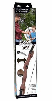 October Mountain Products Passage Recurve Bow Package