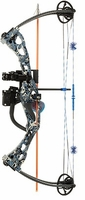 October Mountain Products Poseidon Bowfishing Bow Light Stryke AMS Retriever Pro Package