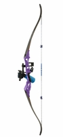Fin Finder Bankrunner Bowfishing Bow Package Purple