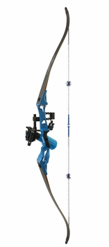 Fin Finder Bankrunner Bowfishing Bow Package Blue