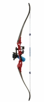 Fin Finder Bankrunner Bowfishing Bow Package Red