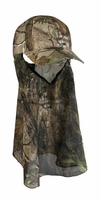 Outdoor Cap Company Solid Cap w/Facemask Realtree Xtra Green