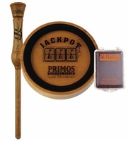 Primos Jackpot w/Glass Pot Turkey Call