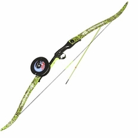 PSE Kingfisher Bowfishing Package Right Hand 40# Dk'd Flo Green