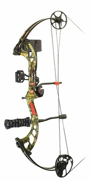 PSE Stinger X RTS Compound Bow Package Mossy Oak Country Camo