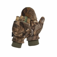 Scentlok Pop Top Fleece Glove Realtree Xtra Camo