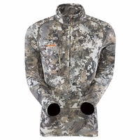 Sitka Gear Core Heavyweight Zip-T Long Sleeve Shirt Elevated II Camo