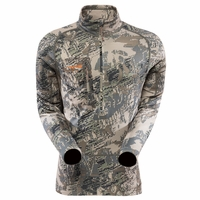Sitka Gear Core Heavyweight Zip-T Long Sleeve Shirt Open Country