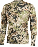 Sitka Gear Core Lightweight Crew Long Sleeve Shirt Subalpine Camo